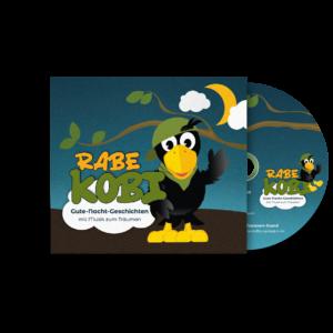 Rabe Kobi – das neue Hörspiel für Kinder von 3-7 Jahren